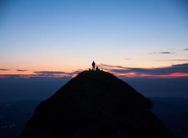 Tramonto dal Monte SIbilla