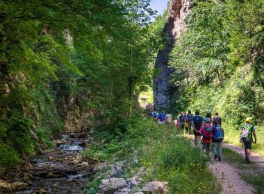 La Valle del Rio Sacro