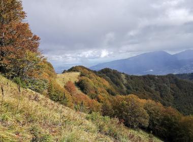 Nel cuore dell'Appennino perduto, il Monte Ceresa